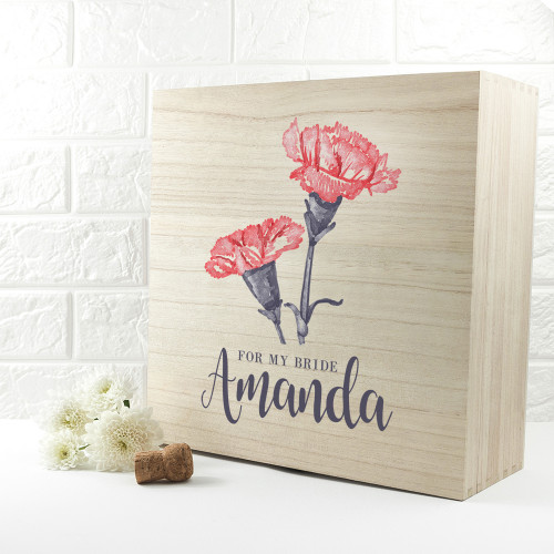 personalised For My Bride Large Box