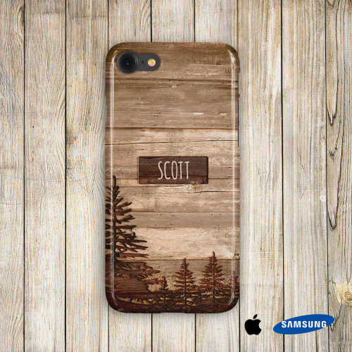 personalised Woodland Phone Case