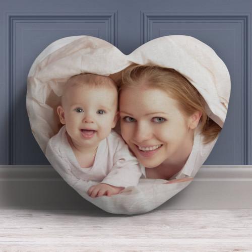 """personalised Photo Heart Cushion (Large) 15"""""""