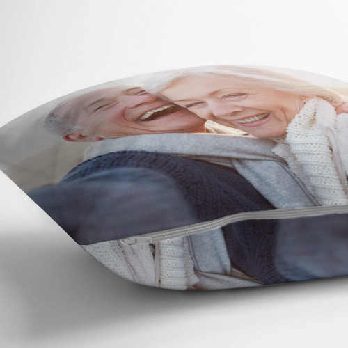 "personalised Double Sided Photo Cushion 12x12"""