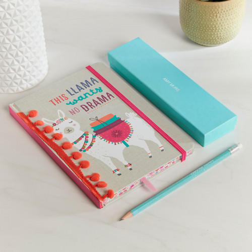 personalised Rainbow Dance With Fairies Notebook Gift Set