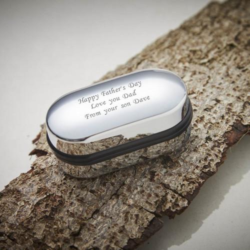 personalised Engraved Cufflinks Box