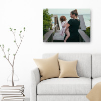 """Personalised 18x24"""" Photo Canvas"""