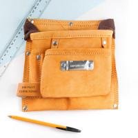 personalised 6 Pocket Leather tool Belt