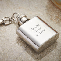 Personalised 1oz Keyring Flask