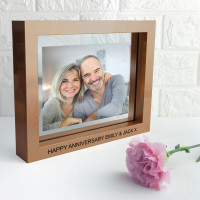 Metallic Copper Toned Photo Frame