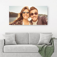 """personalised 24x48"""" Canvas (image five)"""