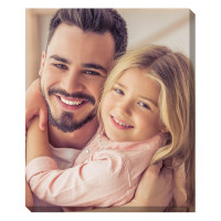 """24x18"""" Personalised Photo Canvas"""