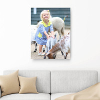 """28x20"""" Personalised Photo Canvas"""