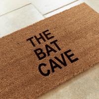 personalised 3 line coir mat