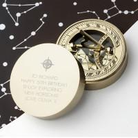 50th Brass Nautical Compass