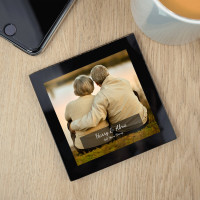 Personalised Glass Photo Coaster