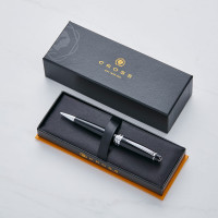 personalised Cross Bailey Black Ball Pen