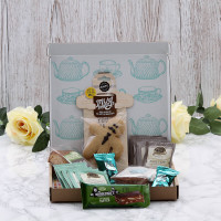 Personalised Afternoon Tea Letterbox Hamper