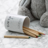 personalised starry nights pot