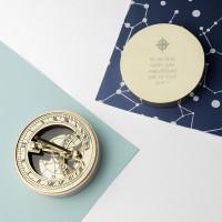Anniversary Brass Nautical Compass