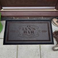 personalised Bar Name Doormat