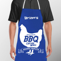 BBQ Chicken Black Apron