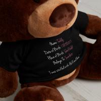 Personalised Birthday Bear Chocolate Charlie Teddy Bear