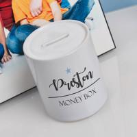 personalised girls star name money box
