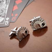 Personalised Deck of Cards Cufflinks