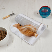 Cat Fish 4 Photo Blanket