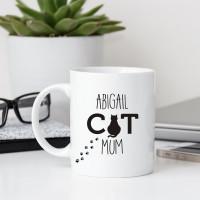 personalised Cat Mum Durham Mug