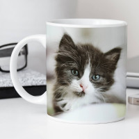 personalised Simple Photo Upload Mug