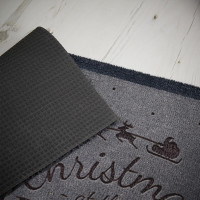 personalised christmas doormat