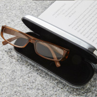 Personalised Chrome Glasses Case 2
