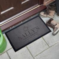 personalised Coffee Shop Doormat