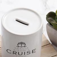 Personalised Cruise Fund Money Box