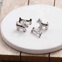 personalised dog and bone cufflinks
