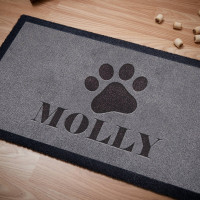 personalised dog doormat