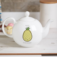 Personalised You Are My Fineapple Pot Belly Teapot