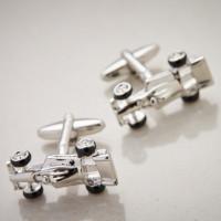 Personalised Formula 1 Cufflinks