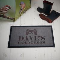personalised Gaming Room Doormat