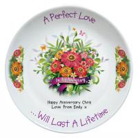 personalised General Anniversary Plate