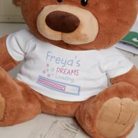 Personalised 'Dreams Loading' Caramel Charlie