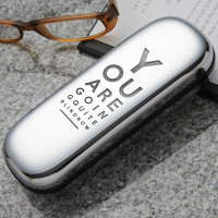 personalised going blind glasses case