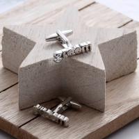 personalised Groom Cufflinks Gift Set