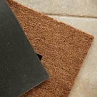 personalised 1 line doormat