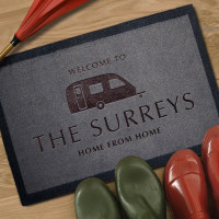 personalised Home Away From Home Doormat