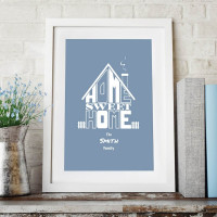 personalised Home Sweet Home Wall Art