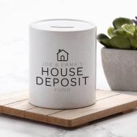 Personalised House Fund Money Box