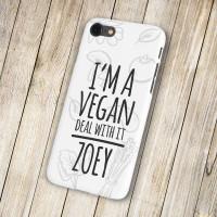 personalised Vegan Phone Case