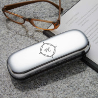 personalised initials glasses case