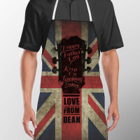 personalised Keep On Cooking Apron