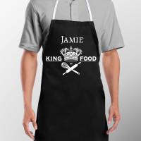 Personalised King of Food Apron