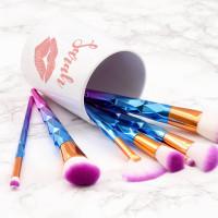 Personalised Kiss Makeup Brush Pot